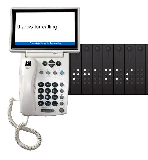 CapTel Braille 800iB